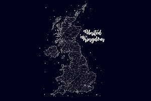 United Kingdom, constellation map