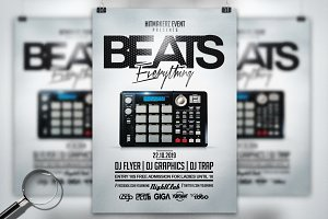 Beats Everything | Flyer Template