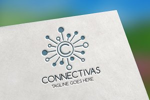 Connectivas (Letter C) Logo