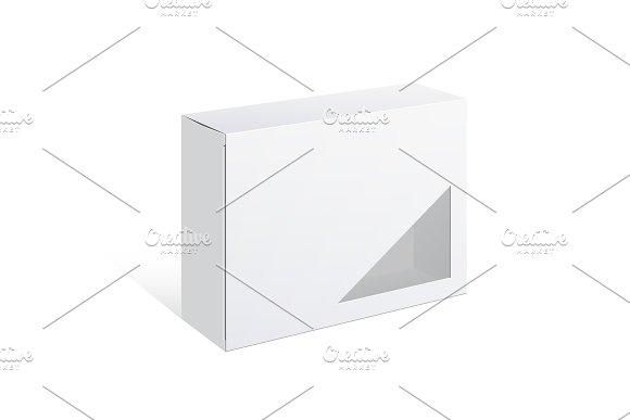 Realistic Package Cardboard Box