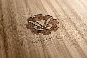 Mecanic Owl Logo Design