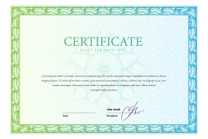 Certificate116