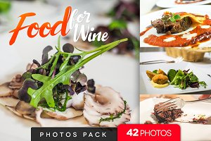 Food for Wine /42pics