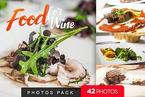 Food for Wine /42pics