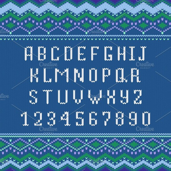 Scandinavian Ornament Font