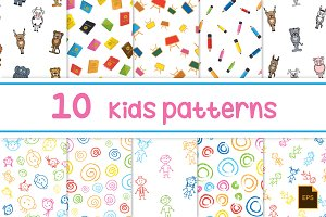 Vector Patterns - Kids