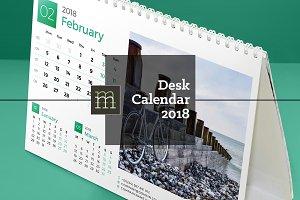 Desk Calendar 2018 (DC009-18)