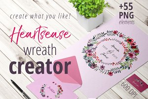 Heartsease Wreath Creator