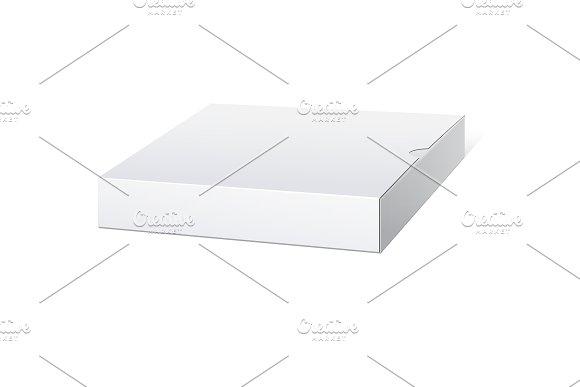 Slim White Package Box