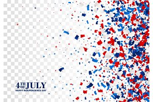 4th of July festive pattern