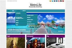 MetroLife - Multi-Purpose WP Theme