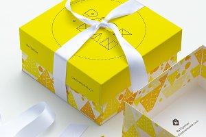 Big Gift Box Mockup 02