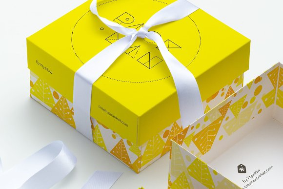 Download Big Gift Box Mockup 02