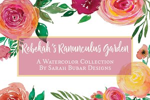 Rebekah's Ranunculus Rose Garden
