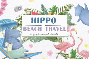 Hippo Beach Travel. Summer Set