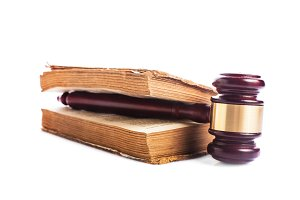 Book and gavel