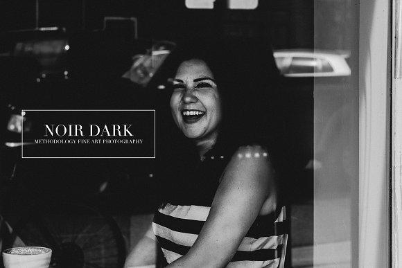 Noir Dark Lightroom ACR Presets