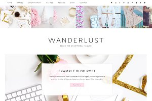 Wanderlust Wordpress Theme