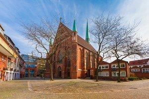 church of St. John in Schnoor, Bremen, Germany