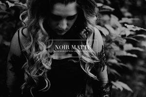 Noir Matte | Lightroom & ACR Presets