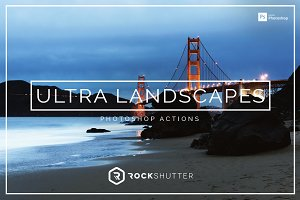 Ultra Landscapes Photoshop Actions