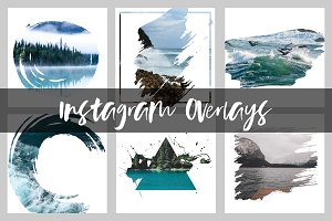 Instagram Overlays - Social Media