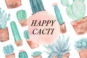 Happy Cacti