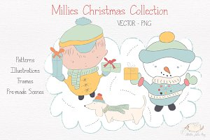 Millies Christmas Collection Vector