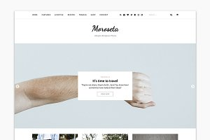 Moroseta - Blog & Shop Theme