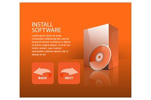 Design a software installation on pc