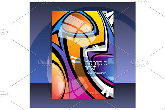 Abstract Cover Design