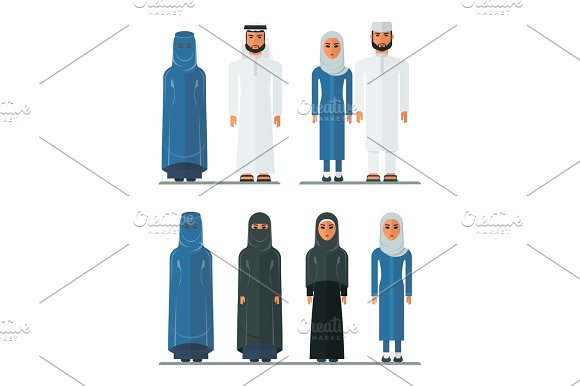 Arabian Traditional Clothes