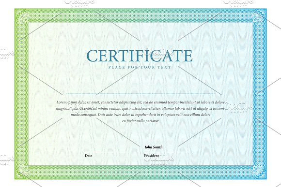 Certificate120