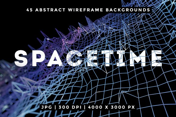 Abstract Wireframe Backgrounds