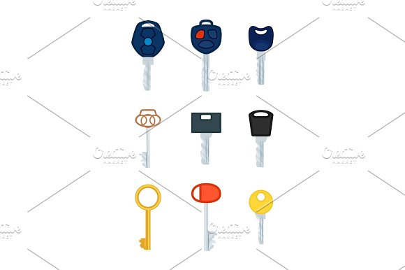 Different Types Of Keys Collection Of Pictures