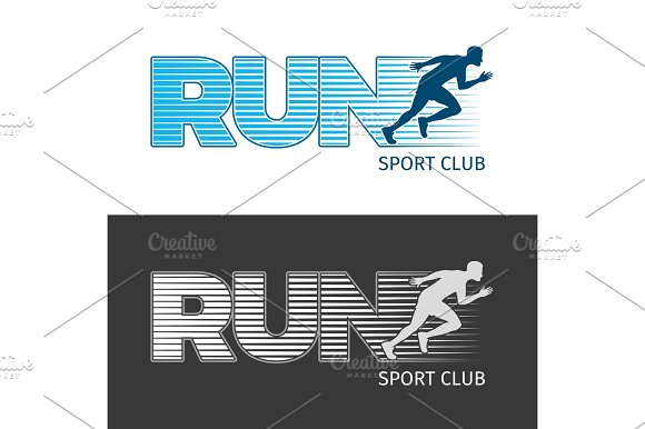Run Sport Club Two Pictures With Running Man