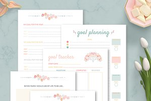 Productivity Planner, goal planning