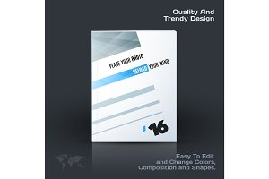 Business vector template, brochure design, abstract annual report, cover modern layout, flyer in A4