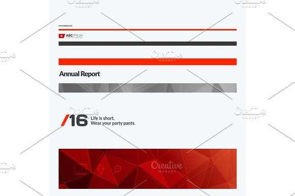Abstract Vector Design Elements For Graphic Layout Modern Business Background