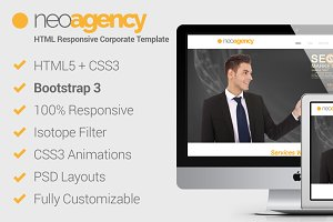 neoAgency – HTML5 Corporate Template