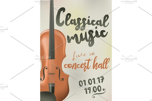 Poster Concert Of Classical Music