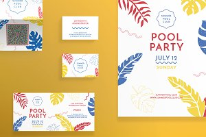 Print Pack | Pool Party
