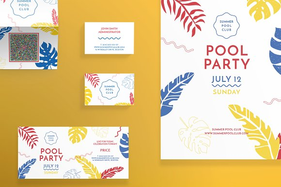 Print Pack Pool Party