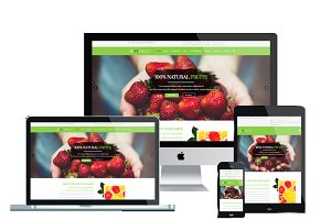 ET Fruit – Organic Food Joomla
