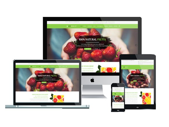 ET Fruit Organic Food Joomla