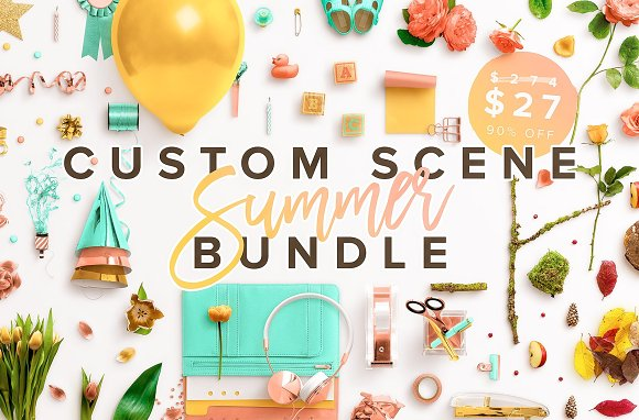 Custom Scene Summer Bundle