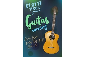 Acoustic guitar event
