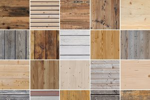 25 Seamless Wood Textures