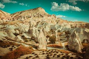 Rocks formations in Turkey