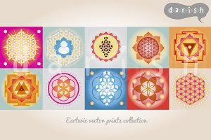 SACRED GEOMETRY PRINTS COLLECTION